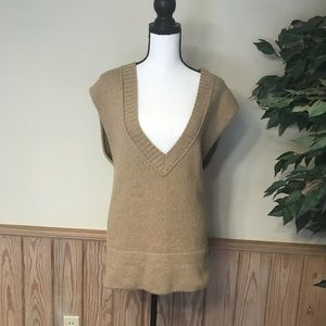 Loft sweater small wool angora cashmere blend